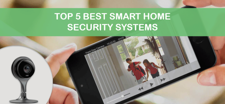 top 5 smart home security systems of 2018. Black Bedroom Furniture Sets. Home Design Ideas